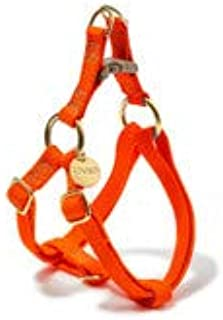 product image for Found My Animal Orange Cotton Cat & Dog Harness, Large