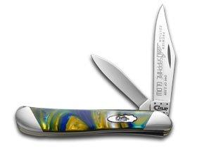 Case Cutlery S9220SG Peanut Pocket Knife, Small, Sapphire Glow