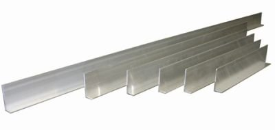 L-Shaped 6 Piece Aluminum Tile Screed/Straightedges Set by Kraft Tool (Image #1)