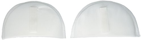 Dritz 53073-9 Shoulder Pads, Covered Set-in, 3/8-Inch, White (White Shoulder Pads)