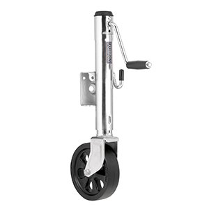 Fulton Jack, 1500-Pound Swing-Away with Weld-On Steel Construction, 10-Inch Travel, 8-Inch Poly Wheel by Fulton