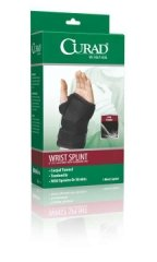Curad Universal Wrist Splints 6 Inches (Right Arm) Case of 4 by Medline