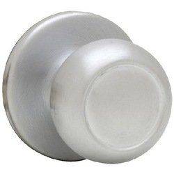 Kwikset Copa Knob Satin Chrome Passage Function