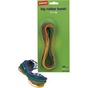 Staples Brand Large Rubber Bands 24 Pack