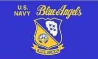 Navy Blue Car Flag - 6