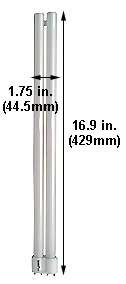 (Case of 10) Single Twin Tube Compact Fluorescent Lamps | F36LTT/4P/841/ 2G11 ()
