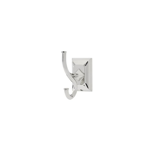 UPC 785584502965, Alno A7999-PC Transitional Geometric Robe Hooks, Polished Chrome