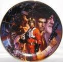Star Wars Collectible Plates - Hamilton Star Wars Collectible Plate