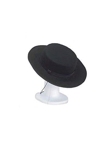 DISBACANAL Sombrero cordobés Adulto - Negro: Amazon.es: Juguetes y ...