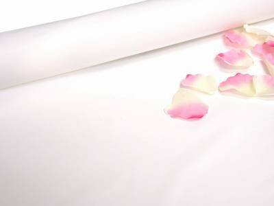 Tableclothsfactory 40'' x 100ft PVC Aisle Runner-White by Tableclothsfactory