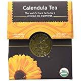 Organic Calendula Flower Tea - Kosher, Caffeine-Free, GMO-Free - 18 Bleach-Free Tea Bags - PACK OF 3 by Buddha Teas