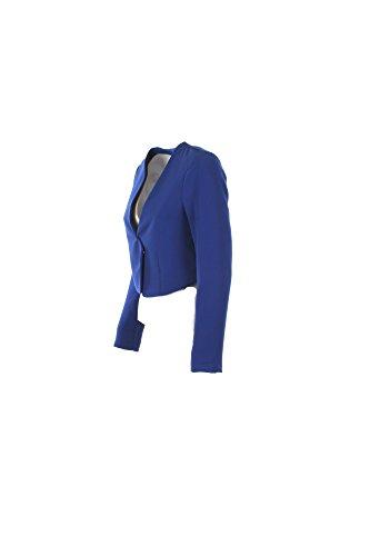 Giacca Donna Kaos 46 Azzurro Hp1co034 1/7 Primavera Estate 2017