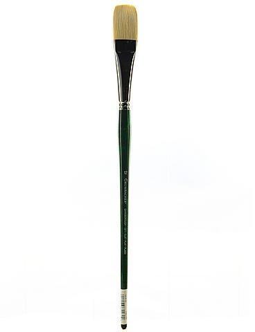Grumbacher Gainsborough Oil and Acrylic Brushes (Size: 12) - Flat 1 pcs sku# 1831539MA ()