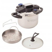 Easy opening and closing pressure cooker 6L KPC-60 by Iris (IRIS OHYAMA)