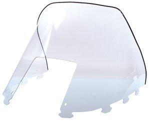 Koronis (Sno-Stuff) Replacement Windshield - Ski-Doo Formula 1995-2000 / Grand Touring/MX-Z 583 1996 / MX-Z 440 1996-2000 / MX-Zx 440 1997-1998 / Skandic/Touring 1995-2001 / Summit 1996-2001 - Smoke - Low - 13 Inch - 450-472