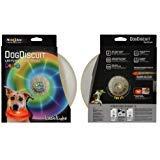 Nite-ize Flashflight Dog Discuit Disc - Disco, Multicolor Flying Toy