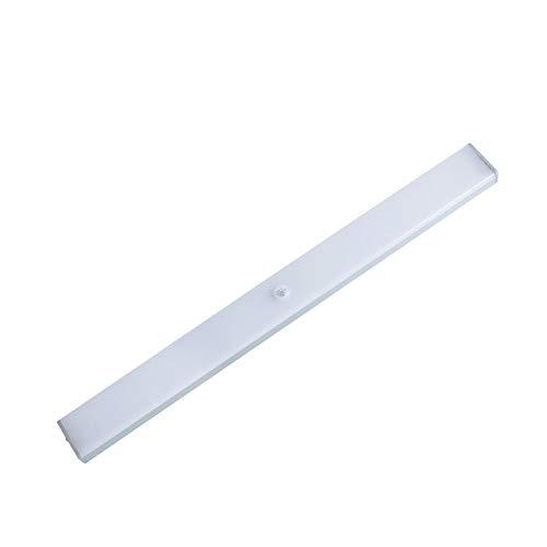 Kariwell Sensor Closet Light - Rechargable LED Under Cabinet Lighting Bar Removable Magnetic Strip Night Light for Closet Cabinet Bedoom Kitchen and Bathroom ()