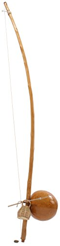 Brazilian Berimbau, Viola Tone (High), Small Size Gourd with Varnished Finish