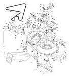 Husqvarna CT130 CTH151 CTH171 CTH140 Cutting Deck Belt Bearing Options