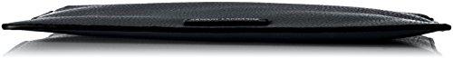 A Armani A X Black X Exchange Pouch Pu Pebble Oqw6175