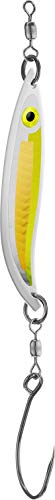 - PEETZ CJ Special 3.5-Inch Aluminum Fishing Spoon Lure | Yellow Scale & Silver/Gold Scale | Striped Bass Trolling Hard Bait for Lakes