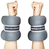 Ankle and Wrist Weights by David Kirsch Wellness- Ankle Weights Set for Fitness, Jogging, Aerobics, Yoga- Adjustable Straps- Premium Quality Material- User-Friendly and Comfortable. 10lb-2