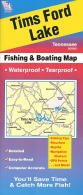 Tims Ford Lake Fishing Map (Tennessee Lake Maps, A410)