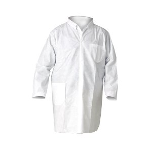 Kimberly Clark Safety 10029 KLEENGUARD A20 Breathable Particle Protection Lab Coat Thomas Scientific Large Pack of 25