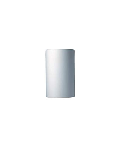 Justice Design Group Glass Sconce - Justice Design Group Lighting CER-0940-BIS Wall Sconce with Ceramic Bisque Shades, White