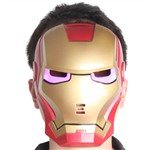Cool Cosplay Glowing Iron Man Mask with Blue