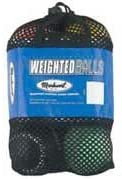 Markwort Weighted Synthetic Cover Baseballs from (Set of 6)