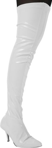 Amazon.com: Vinyl Thigh High Boot Covers: Clothing