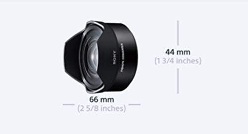Sony VCL-ECF2 SLR, 4//4, E Mount, 0,048x, Noir, 6,6 cm Lentilles et filtres dappareil Photo