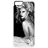 Personalized Diy Cutstomize Lady Gaga case for iphone 6 (4.7 inch) LIULAOSHI(TM) [Pattern-1]