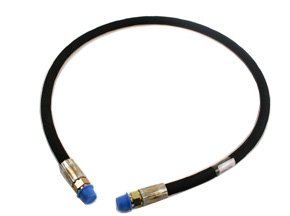 """Western Replacement Angle Hydraulic Hose 1\4 X 38"""" 55020"""