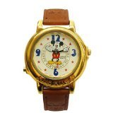 Collectible Lorus Disney Ladies Rare Musical Watch Plays Happy Birthday RTR040