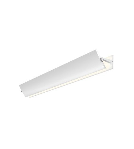 Sonneman Lighting Aileron 36-inch LED Textured White Sconce (Box Sonneman)