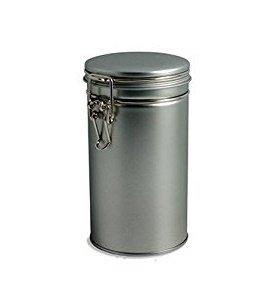 Nakpunar 4 pcs Airtight Tea Coffee Tins with Latch
