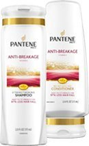 Pantene Pro-V With Vitamin E - Anti-Breakage Shampoo & Conditioner Combo, 12.6 Fl. Oz Each