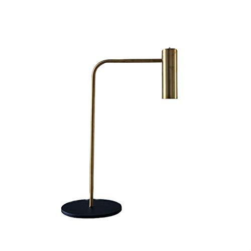 LZQTD Lámpara de Mesa Retro de la Sala de Estar del LED, lámpara ...