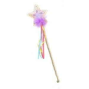 Creative Education's Gold Rainbow Glitter Star Wand