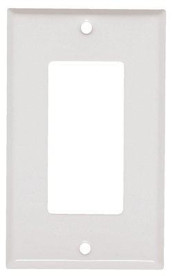 MULBERRY METALS 86401 WHT 1G GFCI Wall Plate ()