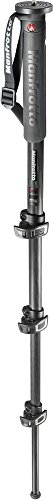 Manfrotto MMXPROC4US XPRO Prime CF 4 Section Monopod (Black) by Manfrotto