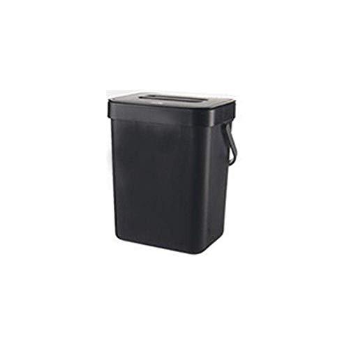 MADHEHAO Vuilnisbak aan de muur gemonteerde vuilnisbak voor huishoudelijke woonkamer, slaapkamer, keuken en badkamer, 13…