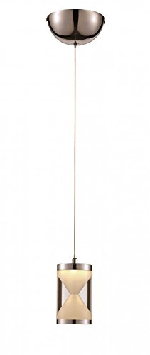 Trans Globe Lighting MDN-1250 Single Drop Frosted Hourglass Mini Pendant by Trans Globe Lighting (Image #1)