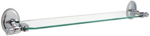 Hardware House 583021 Sheffield Glass Shelf Chrome