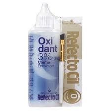 Refectocil Kit:Bleaching Paste Blonde 0 + Oxidant Creme 3% 3.4 oz + Brush
