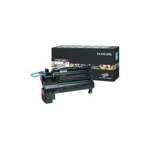 Lexmark X792 Print - Lexmark X792 Magenta Extra High Yield Print Cartridge (20000 Yield) - Genuine Orginal OEM toner