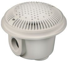 Hayward WG1051AVPAK2 White 1-1/2-Inch Dual Suction Outlet for Concrete Pools