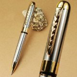 250 Silver and Gold Twist Ballpoint Pen New - 2